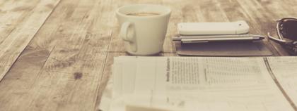 Newspaper & Coffee