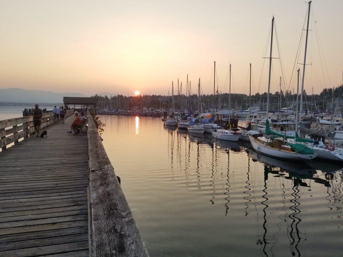 Comox Harbour Sunset