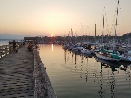 Comox Harbour Sunset